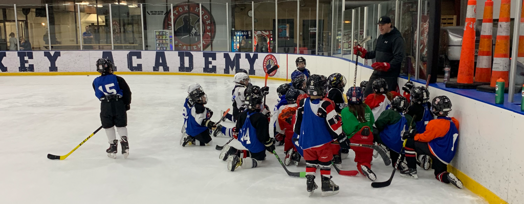 Rolston Hockey Academy young players
