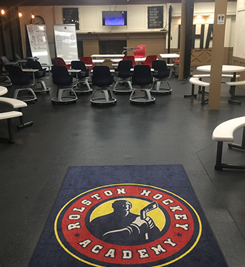 Rolston Hockey Academy classroom