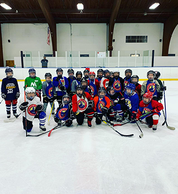 Rolston Hockey Academy players