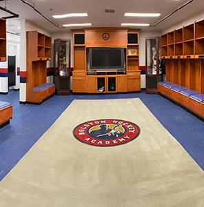 Rolston Hockey Academy Locker Room